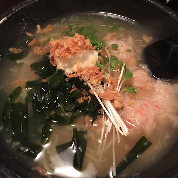 Crab And Uni Butter Ramen  @ 炭焼 宮崎地鶏 ICCHO