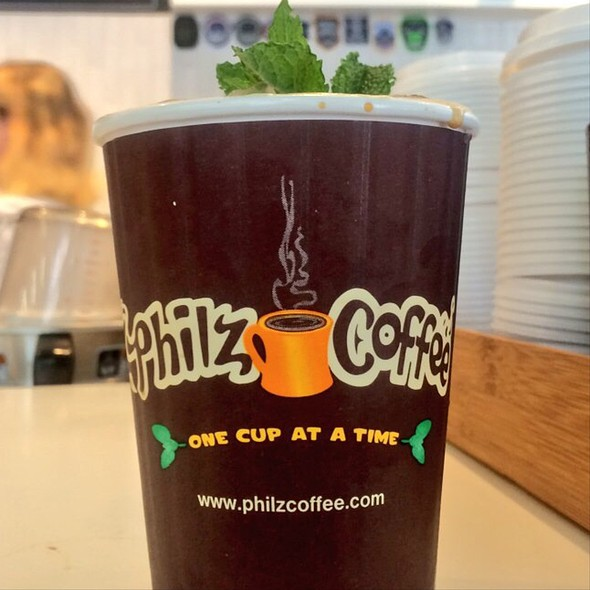 Iced Mint Mojito @ Philz Coffee