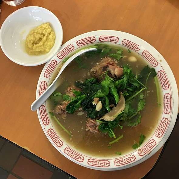 Turkey Neck Soup @ Zippy's Makiki