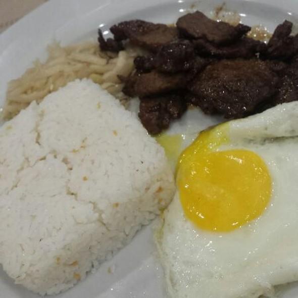 Beef Tapa With Garlic Rice & Egg