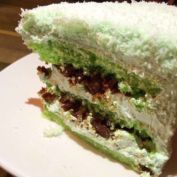 ONDEH-ONDEH CAKE  @ THE MALAYAN COUNCIL