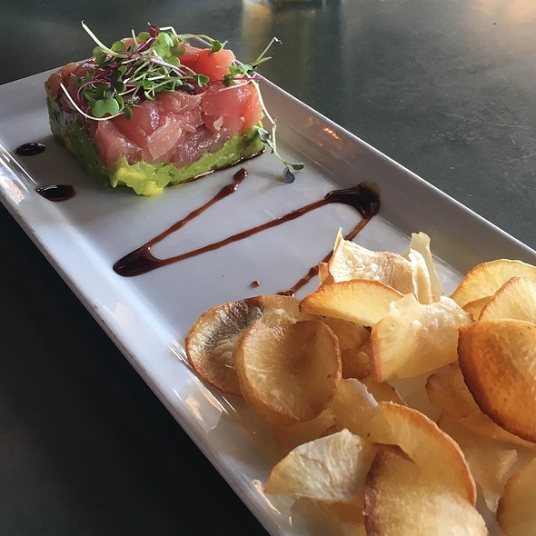 Tuna Tartare @ Pier 115 Bar & Grill