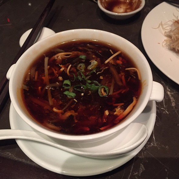 Hot and Sour Soup - Hakkasan - Fontainebleau Miami Beach, Miami Beach, FL