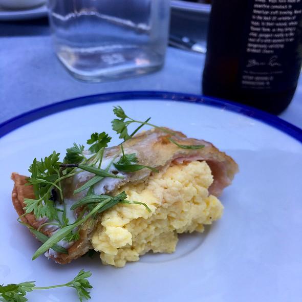 Egg Empanada @ Le Salbuen