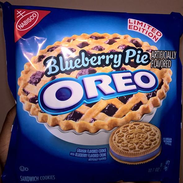 Oreo Blueberry Pie Edition