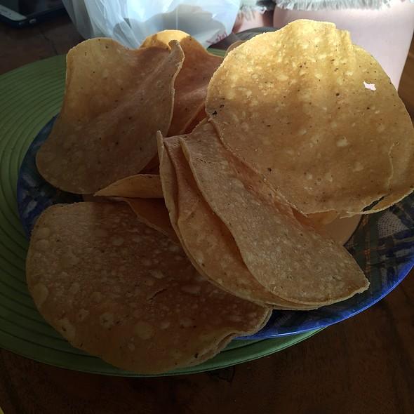 Corn Chips @ El Burrito Jr
