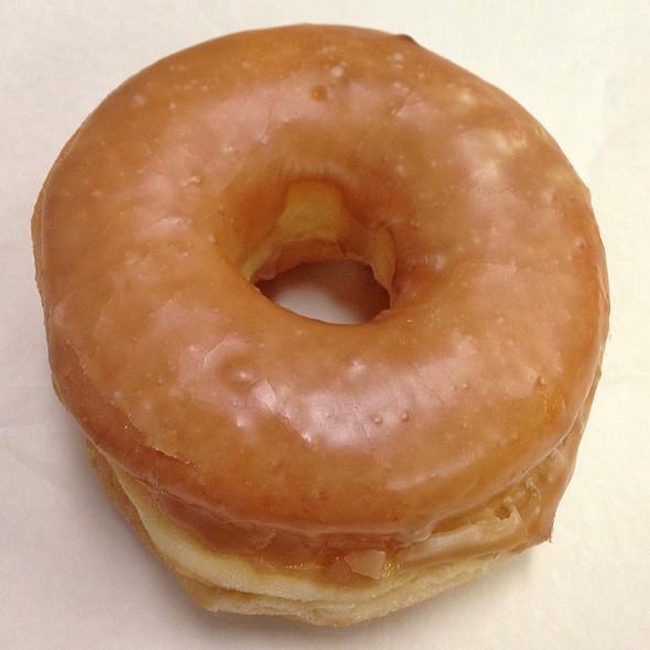 Caramel Glazed Donut