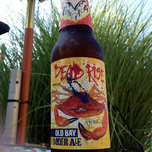 Flying Dog Dead Rise Old Bay Summer Ale @ Crescent Liquor Store