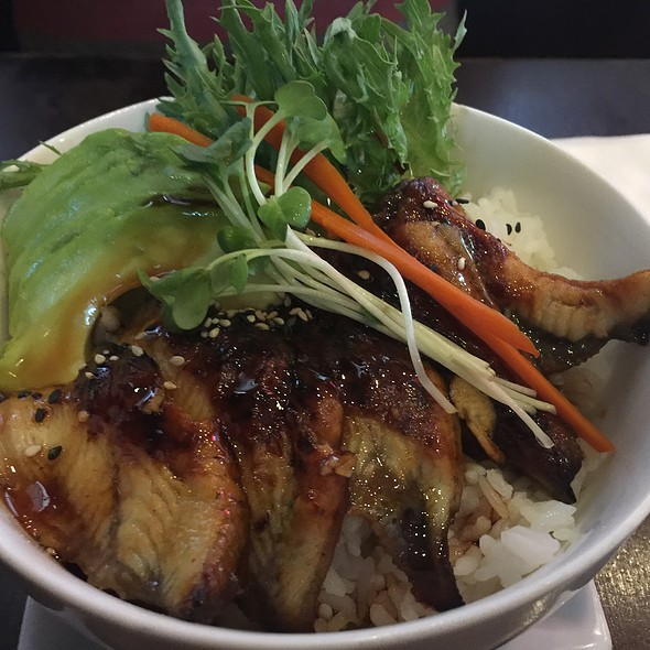 Unagi Bowl @ Awesome Sushi