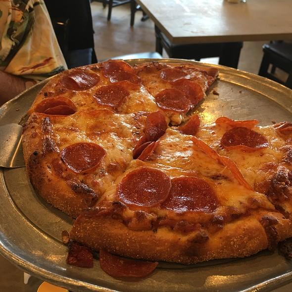 Small Pepperoni Pizza @ Joseph's Pizza