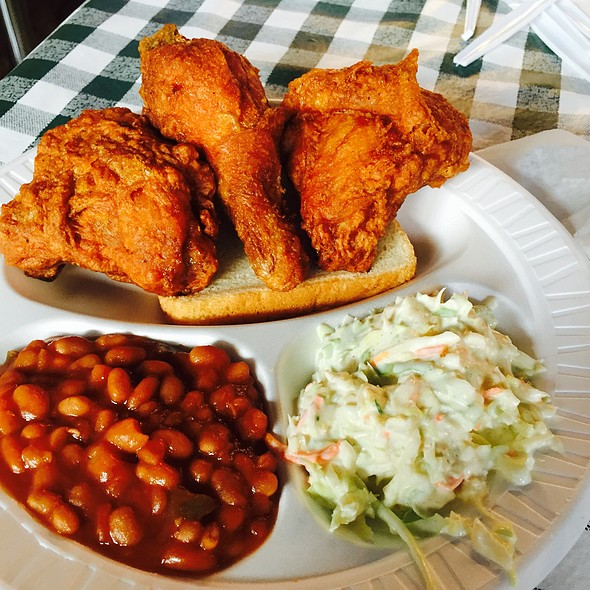 3 Piece Dark Meal @ Gus's World Famous Fried Chicken