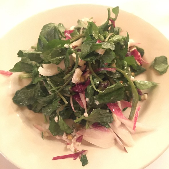 Endive And Watercress Salad - Les Halles, New York, NY