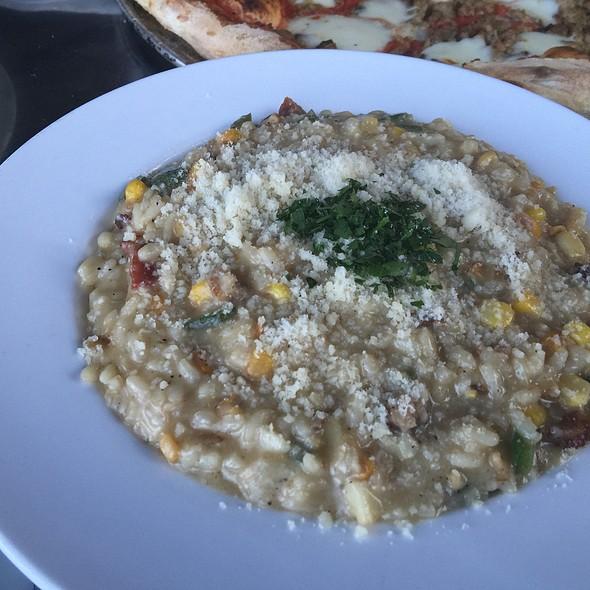 Corn, Jalapeno & Pancetta Risotto