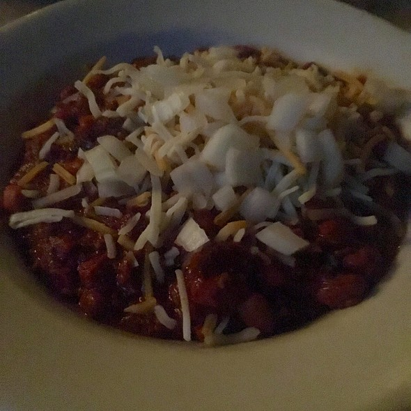Beef Chili @ Cold Spring Tavern
