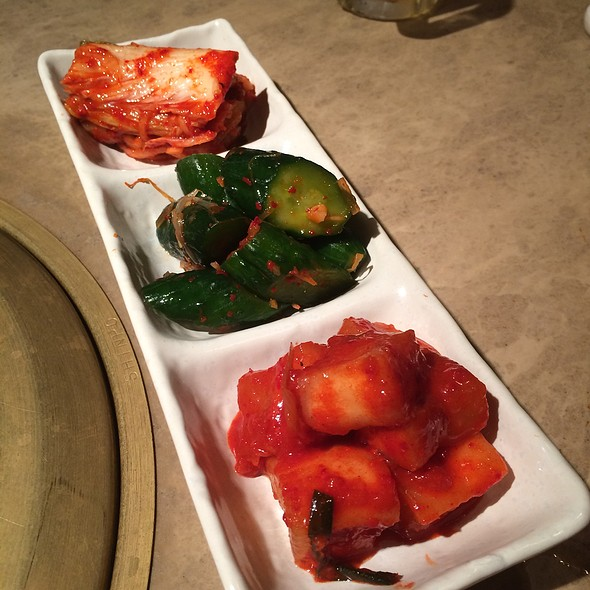 Assorted Kimchee @ ナルゲ
