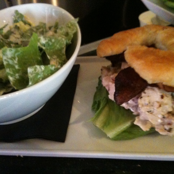 Smoked Chicken Salad Sandwich @ Mosaic Modern Fusion Cuisine