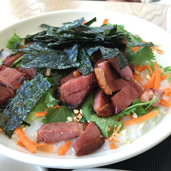 Smoked Duck Jook
