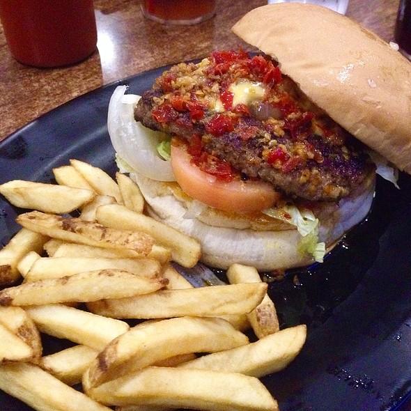 Burger from Hell @ Zark's Burgers