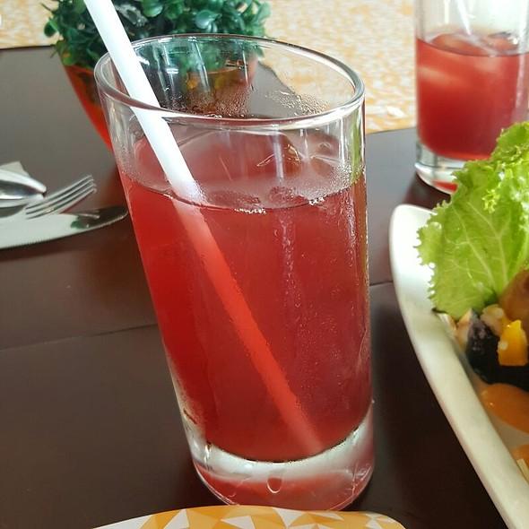 Red Iced Tea @ Torch Restaurant