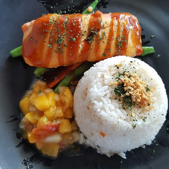 Salmon @ Torch Restaurant