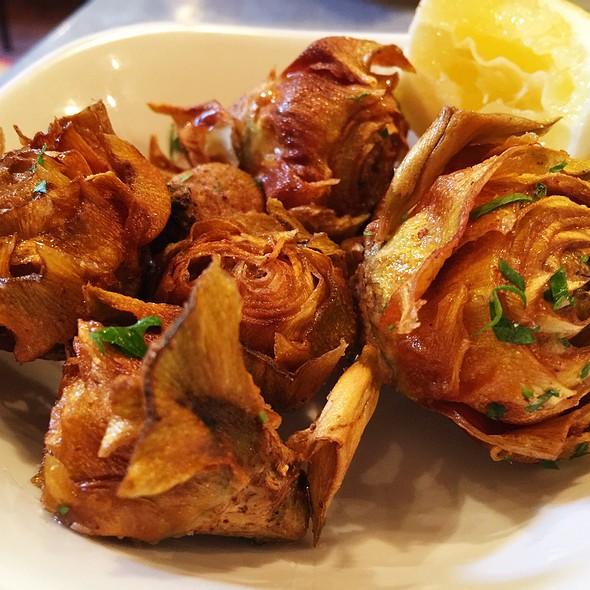 Fried Baby Artichokes @ il buco alimentari & vineria