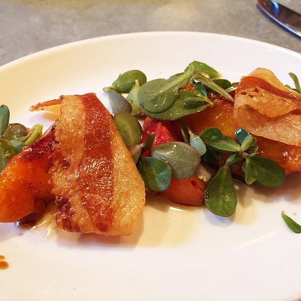 Grilled Peach @ il buco alimentari & vineria