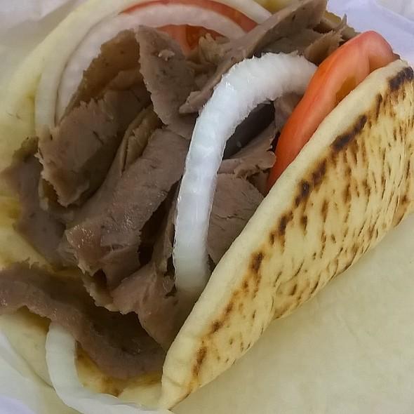 Gyro time lamb & beef @ Gyro Time Restaurant
