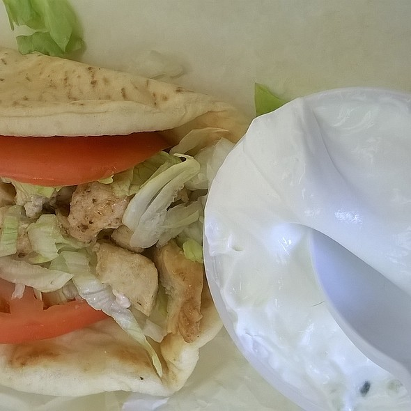 Chicken Gyro @ Gyro Time Restaurant