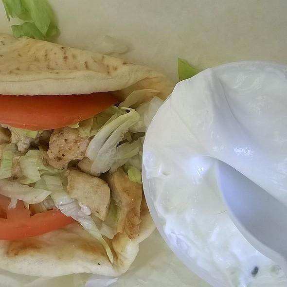 Chicken Gyro @ Gyro Time Restaurant