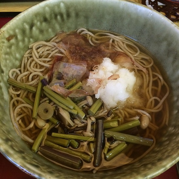 Mountain Vegetable Soba @ サガミ 西大津店
