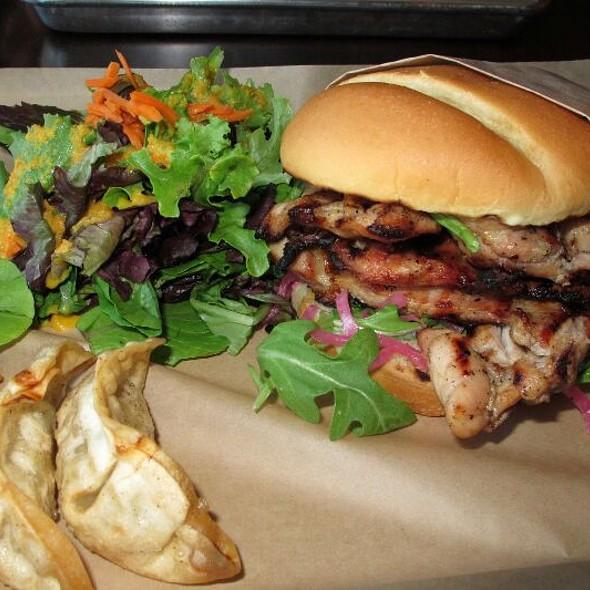 BBQ Chicken Burger