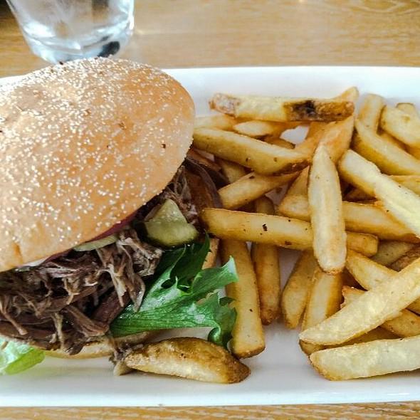 Pulled Lamb Burger