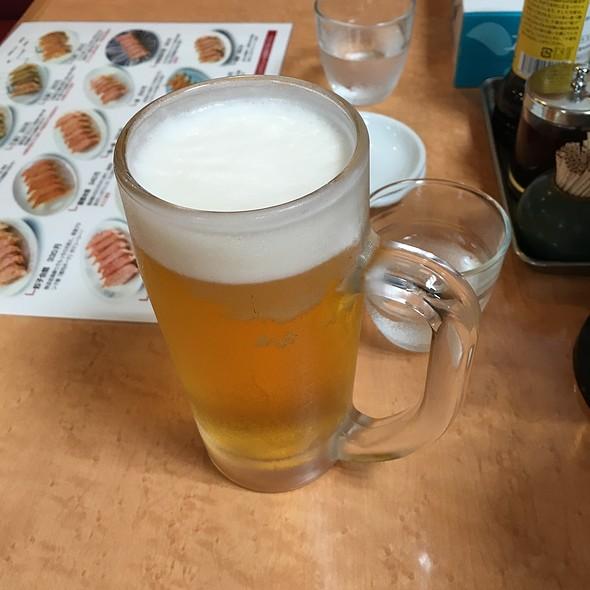 生ビール @ 来らっせ 本店