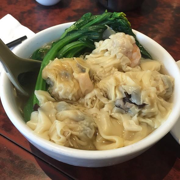 Shrimp Dumpling Noodle Soup