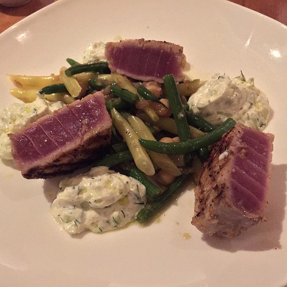 Grilled Yellow Fin Tuna - Sole, New Canaan, CT