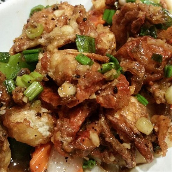 Garlic Pepper Soft Shell Crab @ Zabber Thai Cuisine