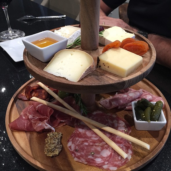Cheese and charcuterie plate @ Calave