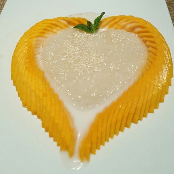 Mango Sticky Rice @ Zabber Thai Cuisine