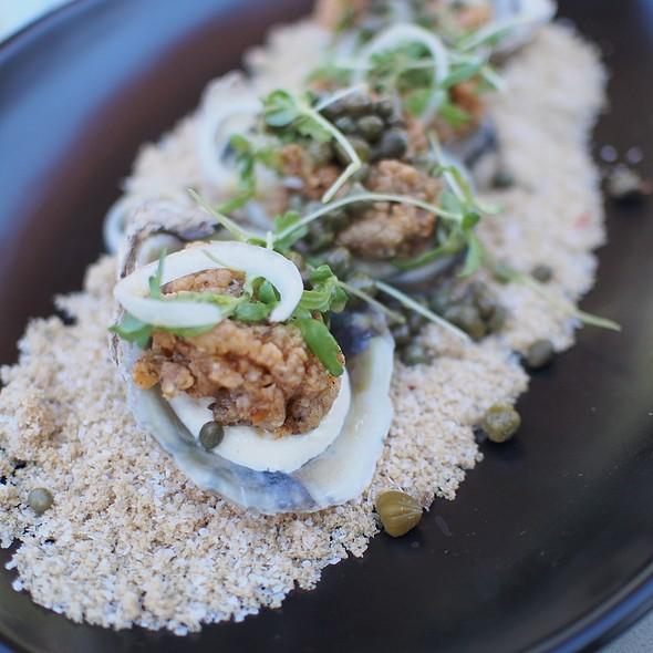 fried oysters @ Gram & Dun