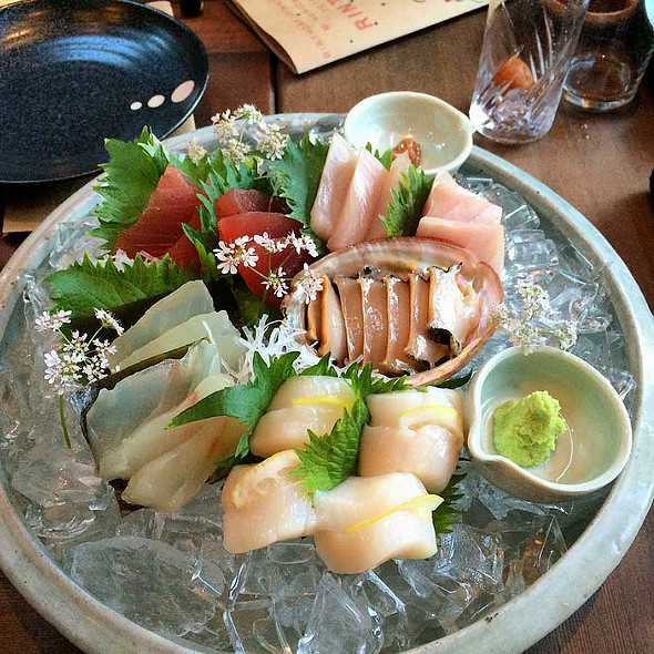 Special Sashimi Moriawase @ Izakaya Rintaro