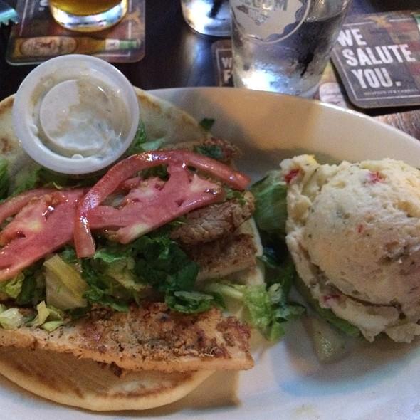 Chicken Pita @ French Quarter Restaurant