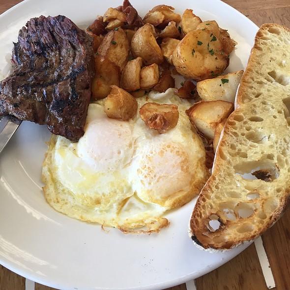 Carne Asada And Eggs - World Famous, San Diego, CA