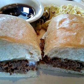Hot Roast Beef Sandwich - Cafe 501 - Classen Curve, Oklahoma City, OK