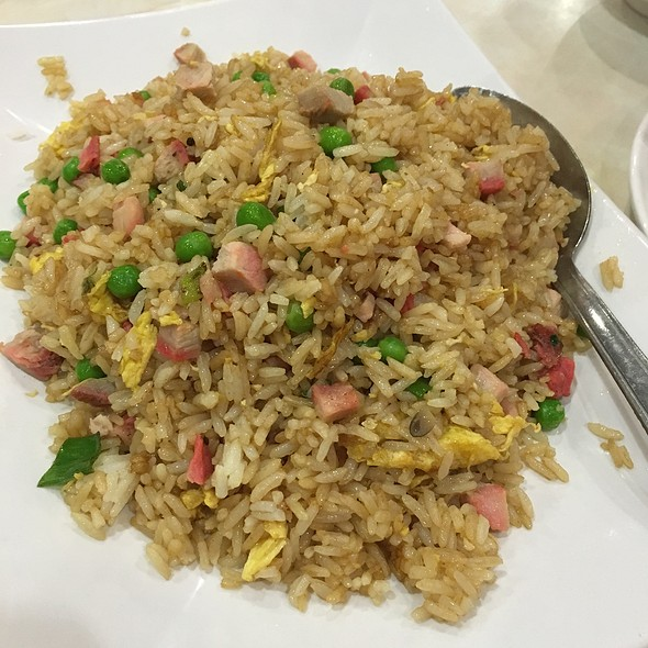 Pork Fried Rice @ New Sam Kee Resturant