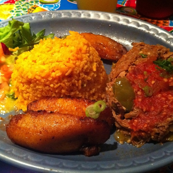 Ropa Vieja - Victor's 1959 Cafe, Minneapolis, MN