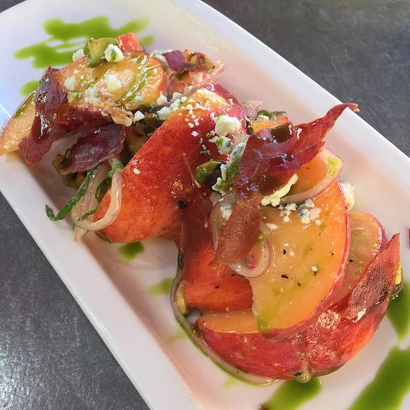 Peach Salad - Bravas Bar de Tapas, Healdsburg, CA