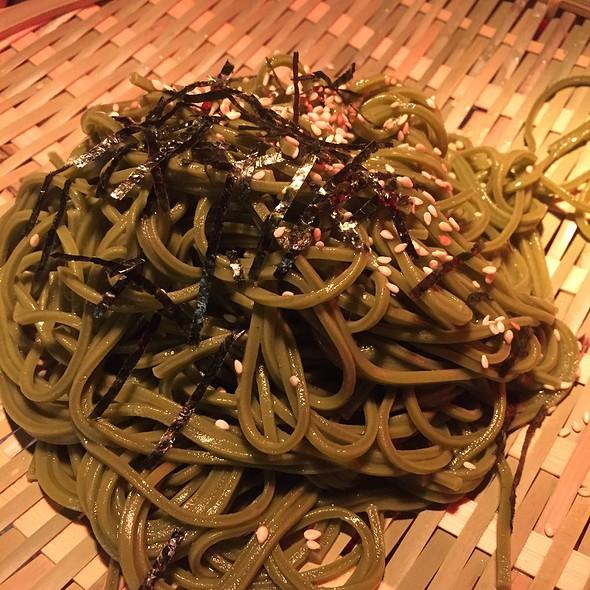 Soba   Matcha Buckwheat Noodles.