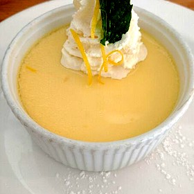 Lemon Pot De Creme - Sacks Cafe and Restaurant, Anchorage, AK