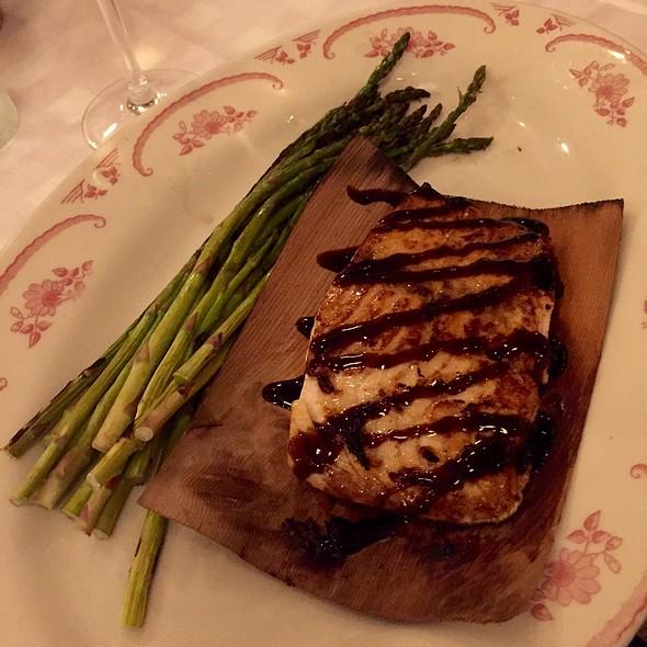 Grilled Salmon Capri @ Maggiano's - San Antonio