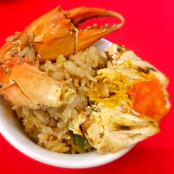 紅蟳米糕 Steamed Crab On Sticky Rice @ Ami Hotel